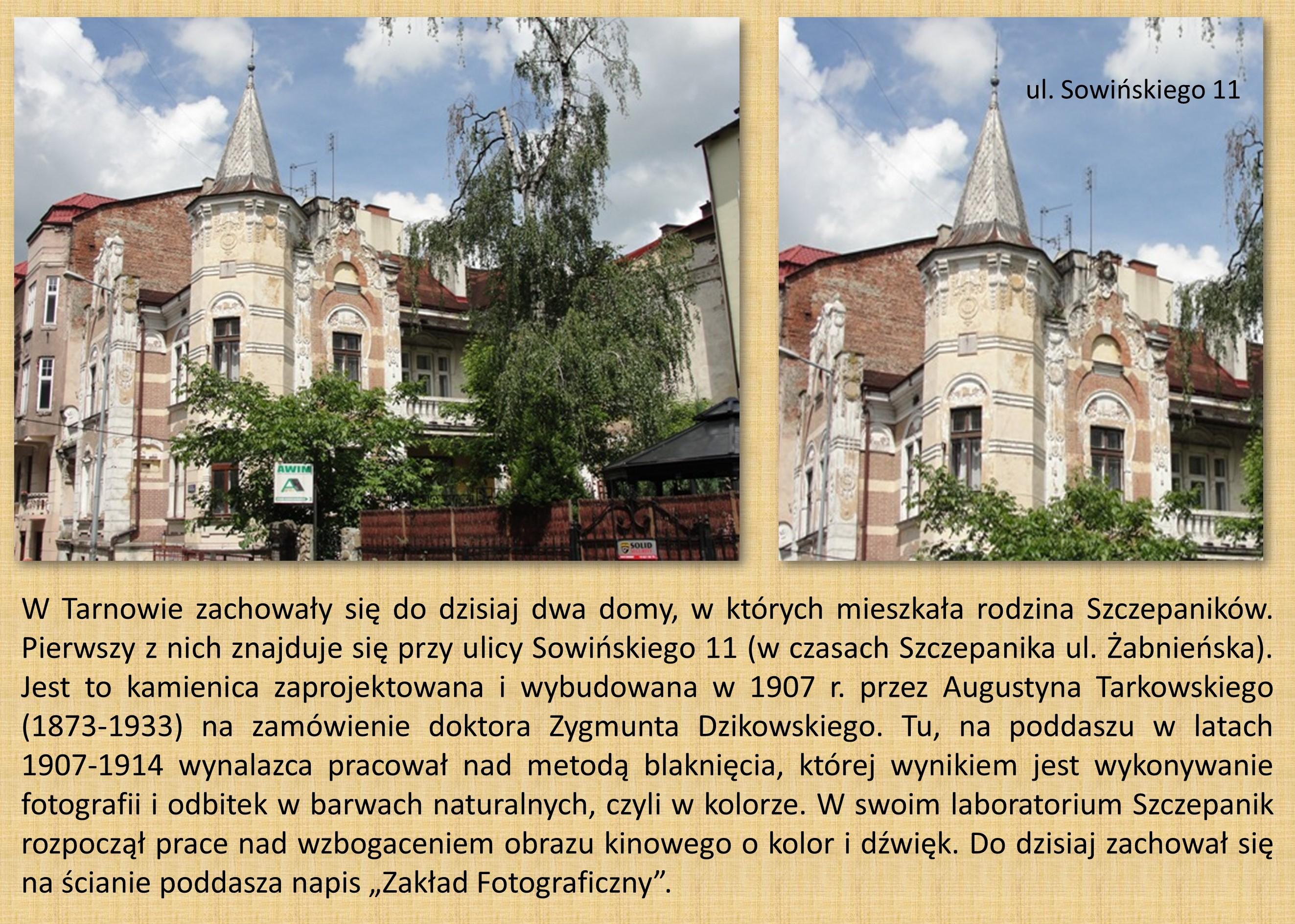 19 - 1.1 LEWO - KAMIENICA UL. SOWIŃSKIEGO 11