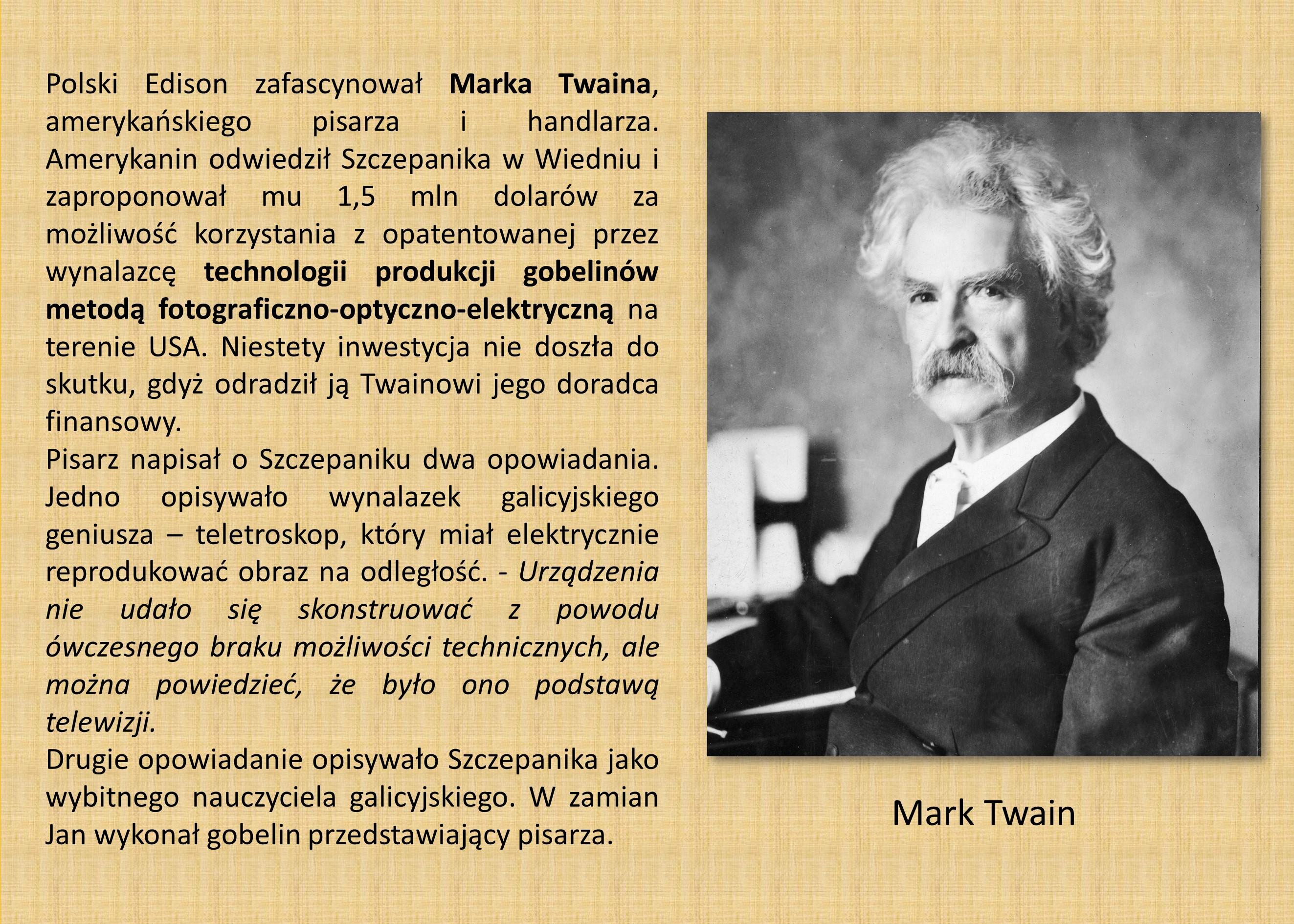 9 - 2.4 JAN SZCZEPANIK - M. TWAIN